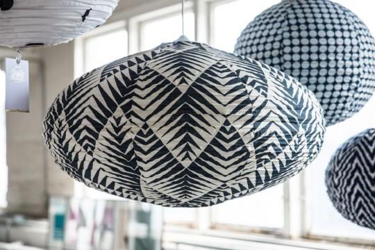 """johanna_schultz_wohnen_0307 Lampion """"palm tree"""",schwarz,oval_.1jpg"""