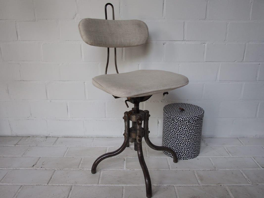 Industrial stuhl drehstuhl johanna schultz wohnen for Stuhl industrial
