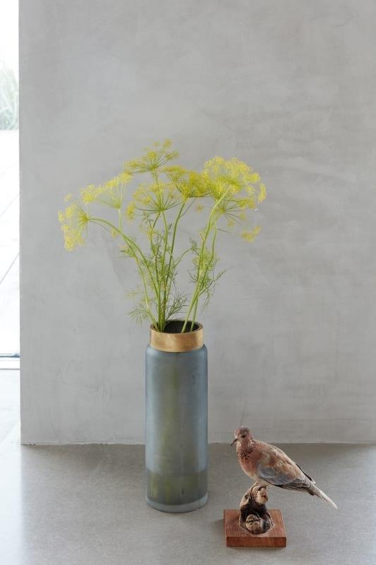 vase gefrostetes glas gro johanna schultz wohnen. Black Bedroom Furniture Sets. Home Design Ideas